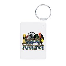 Team Poultry Keychains