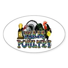 Team Poultry Decal