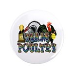"Team Poultry 3.5"" Button (100 pack)"