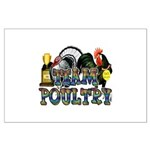 Team Poultry Large Poster