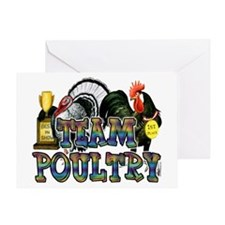 Team Poultry Greeting Card
