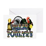 Team Poultry Greeting Cards (Pk of 10)