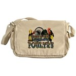Team Poultry Messenger Bag