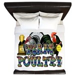Team Poultry King Duvet