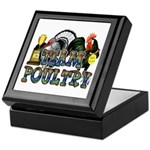 Team Poultry Keepsake Box