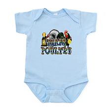 Team Poultry Infant Bodysuit