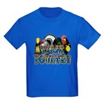 Team Poultry Kids Dark T-Shirt