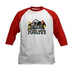 Team Poultry Kids Baseball Jersey