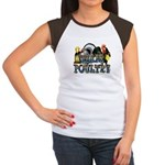 Team Poultry Women's Cap Sleeve T-Shirt
