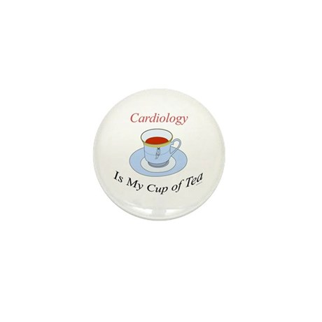 Cardiology is my cup of tea Mini Button (10 pack)