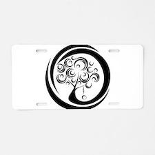 Tomboy Toys logo Aluminum License Plate