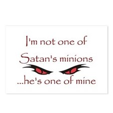 Satan's Minion Postcards (Package of 8)