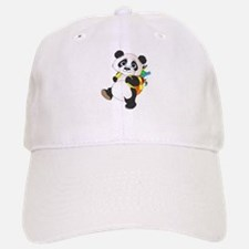 Panda bear with backpack Baseball Baseball Cap