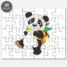 Panda bear with backpack Puzzle