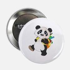 """Panda bear with backpack 2.25"""" Button (100 pack)"""