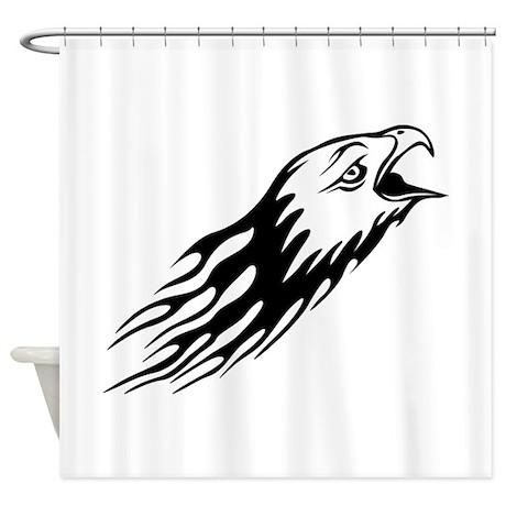 Bird Shower Curtain By Graphicdream