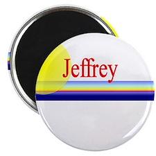 "Jeffrey 2.25"" Magnet (100 pack)"