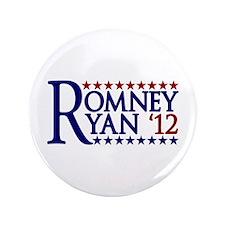 """Mitt Romney Paul Ryan 3.5"""" Button"""