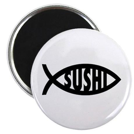 "Sushi Fish Symbol 2.25"" Magnet (100 pack)"