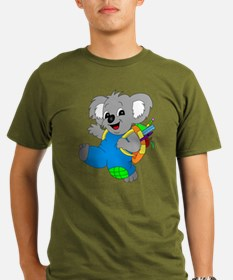 Koala Bear with backpack T-Shirt