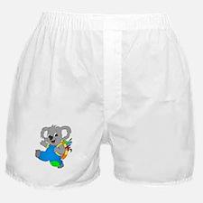 Koala Bear with backpack Boxer Shorts