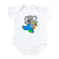 Koala Bear with backpack Infant Bodysuit