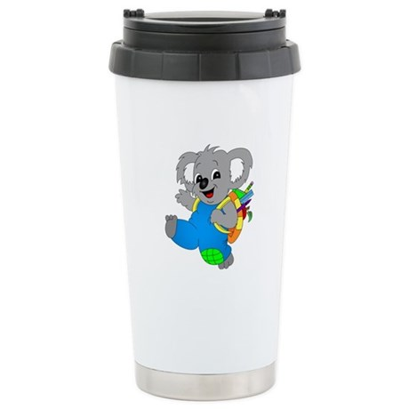 Koala Bear with backpack Stainless Steel Travel Mu