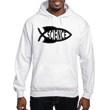 Science Fish Symbol Hoodie