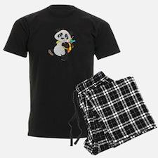 Personalize It - Panda Bear backpack Pajamas