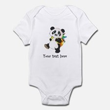 Personalize It - Panda Bear backpack Infant Bodysu