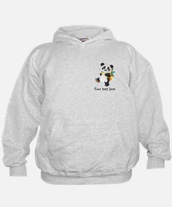 Personalize It - Panda Bear backpack Hoodie