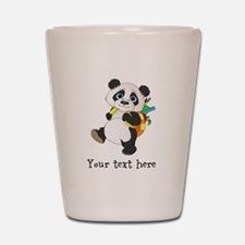Personalize It - Panda Bear backpack Shot Glass