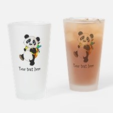 Personalize It - Panda Bear backpack Drinking Glas
