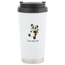 Personalize It - Panda Bear backpack Travel Mug