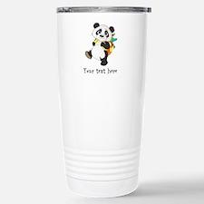 Personalize It - Panda Bear backpack Travel Mug