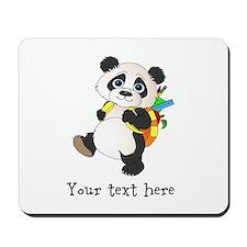 Personalize It - Panda Bear backpack Mousepad