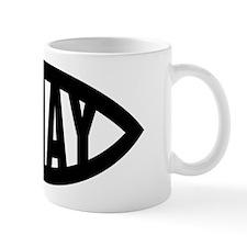 Ixnay Fish Symbol Mug