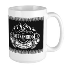 Breckenridge Mountain Emblem Mug