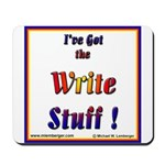 Write Stuff Mousepad