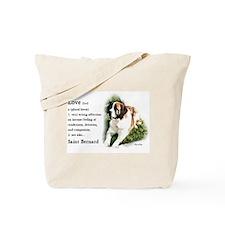 Saint Bernard Gifts Tote Bag