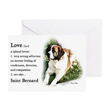 Saint Bernard Gifts Greeting Cards (Pk of 10)