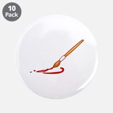 """Painting 3.5"""" Button (10 pack)"""