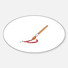 Painting Sticker (Oval)