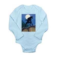 Werewolf Long Sleeve Infant Bodysuit