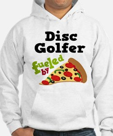 Disc Golfer Funny Pizza Hoodie