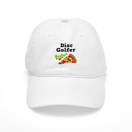 Disc Golfer Funny Pizza Cap