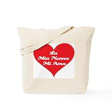 Grandma Loves Me (Italian) Tote Bag
