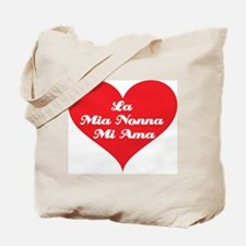 Grandma Loves Me (Italian) Tote Bag