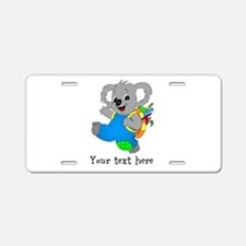 Personalize it - Koala Bear with backpack Aluminum