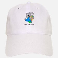 Personalize it - Koala Bear with backpack Baseball Baseball Cap